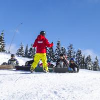Lezione di Snowboard