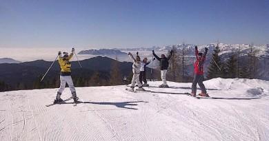 Dal 1 al 6 marzo neve, sole e gioia di vivere