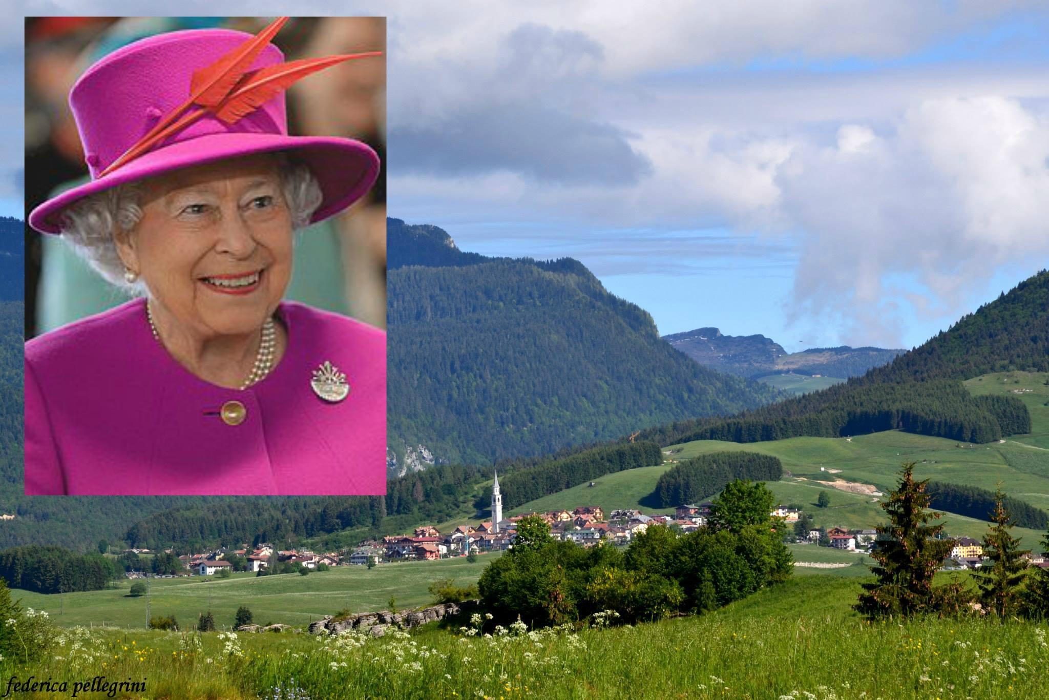 La regina elisabetta in altopiano per il centenario della for B b ad asiago