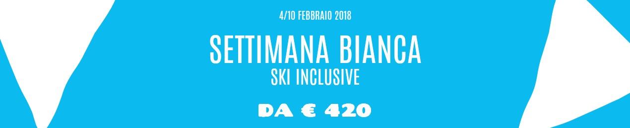 offerta SKI INCLUSIVE febbraio 2018