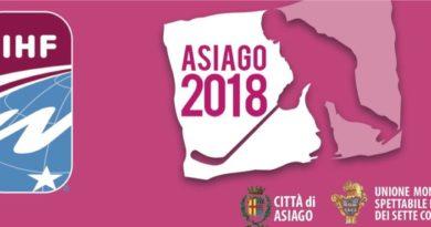Mondiali Femminili di Hockey U18 Asiago Gennaio 2018