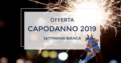 Settimana Bianca Capodanno 2019 da € 510