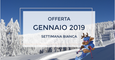 Settimana Bianca Gennaio 2019 da € 395