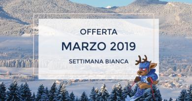 Settimana Bianca Marzo 2019 da € 330