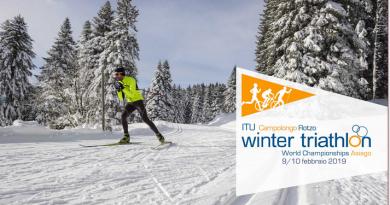 Mondiali Winter Triathlon 2019 ad Asiago il 9 e 10 Febbraio 2019