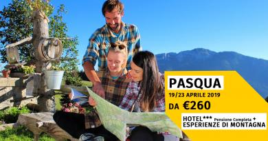 Vacanze di Pasqua 2019 in Montagna ad Asiago immersi nella natura