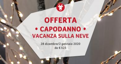 Settimana Bianca Capodanno 2020 da € 525