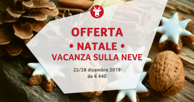 Settimana Bianca Natale 2019 da € 440