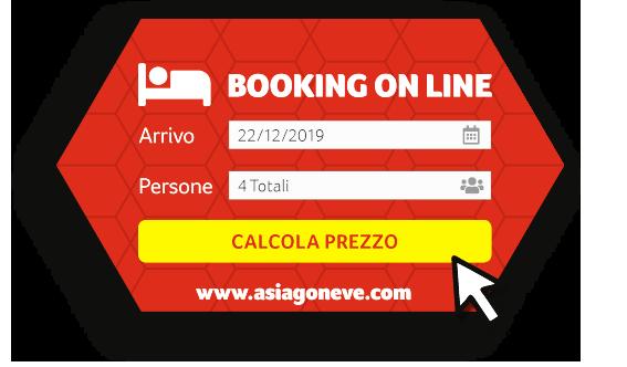 Asiagoneve Booking per Calcolare e Prenotare la tua Vacanza sulla Neve di Asiago