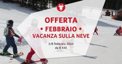 Settimana Bianca Febbraio 2020 da € 435