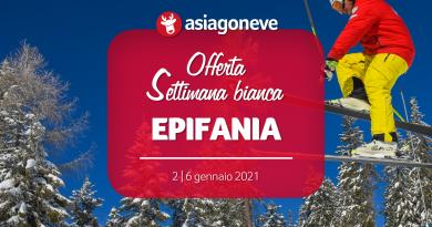 Vacanza Epifania 2021 sulla neve da € 410