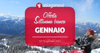 Settimana Bianca Gennaio 2021 da € 410