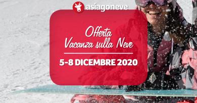 Settimana Bianca Ponte dell'Immacolata 2020 da € 285